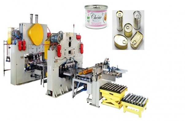 Canned fish making machine/production line