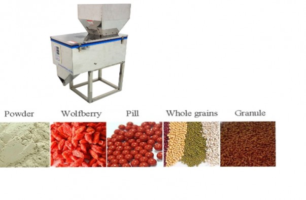 Vertical Auto Weighing Filling Machine