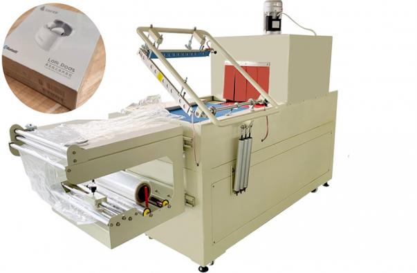 Manual L Seal Shrink Film Wrapper Packing Machine